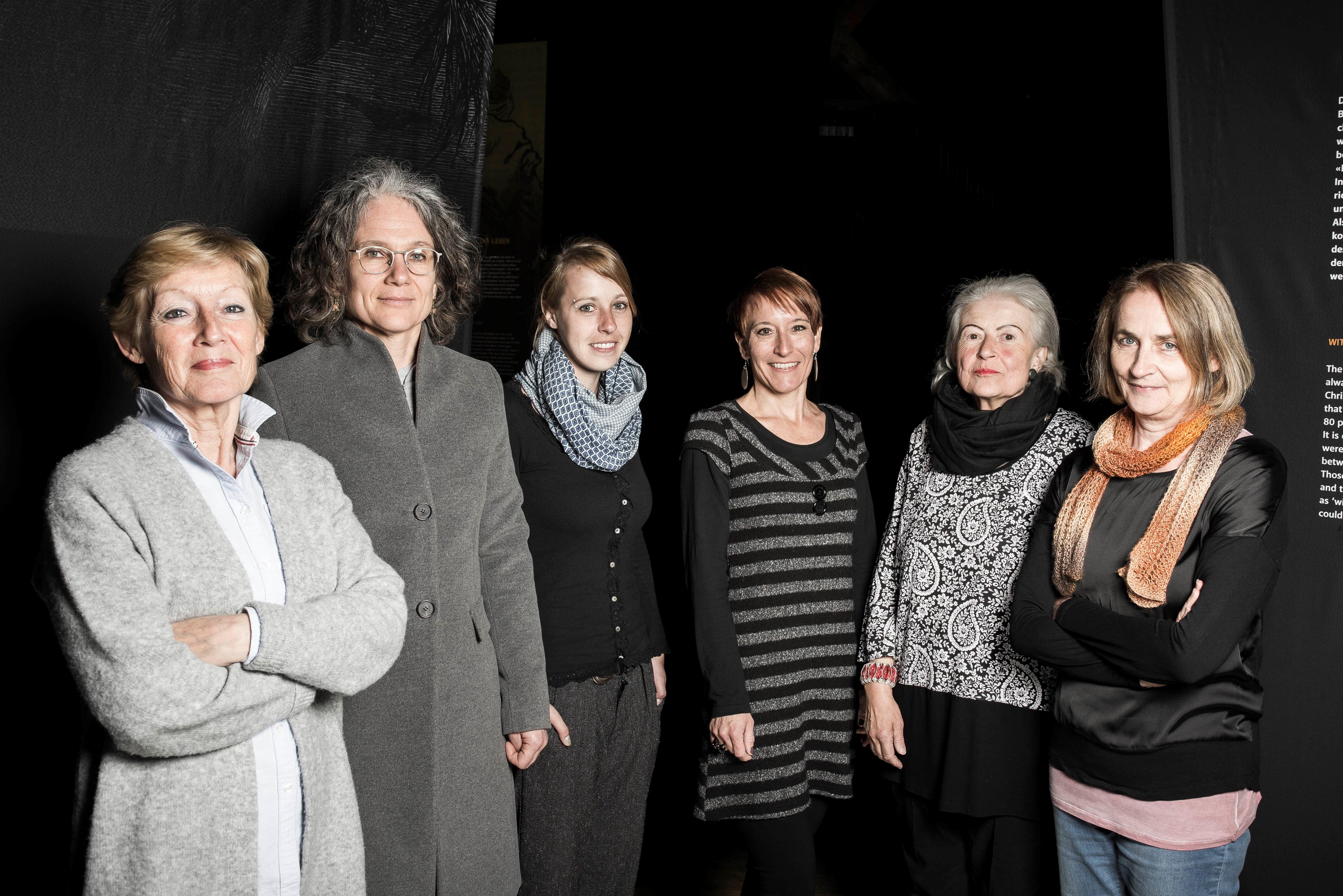 Maggie Wandfluh, Christine Späth, Linda Nafzger, Nadja Kundert, Rita Grendelmeier, Astrid Rhyner