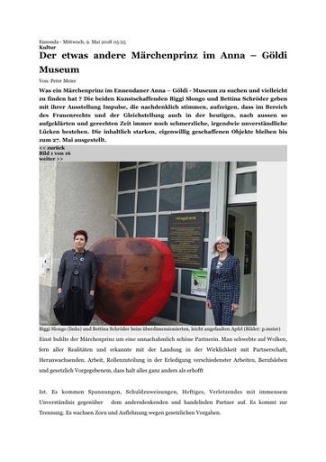 Ausstellung Märchenprinz - Bericht Glarus24